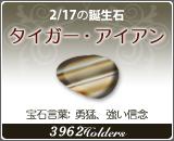 タイガー•アイアン - 2/17の誕生石