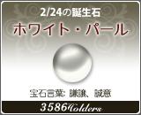 ホワイト•パール - 2/24の誕生石