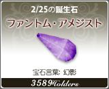 ファントム•アメジスト - 2/25の誕生石