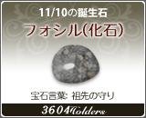フォシル(化石) - 11/10の誕生石