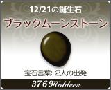 ブラックムーンストーン - 12/21の誕生石